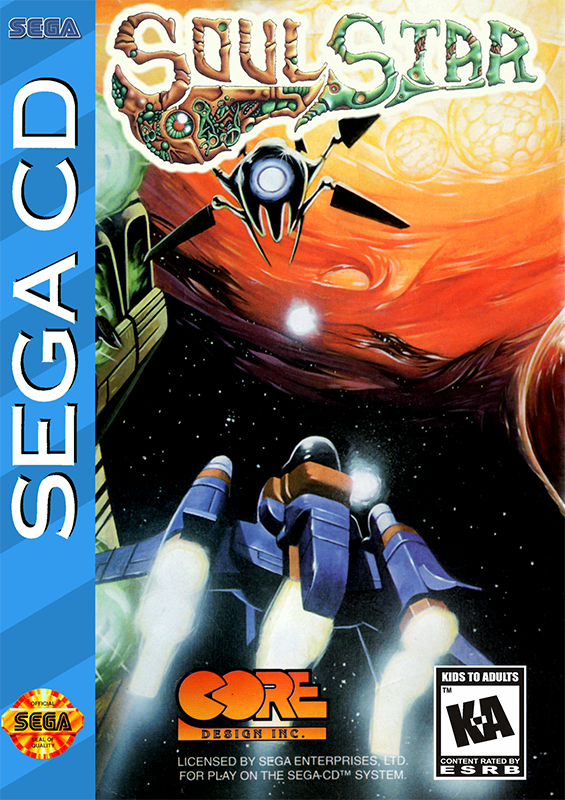 Soul Star Sega CD cover artwork