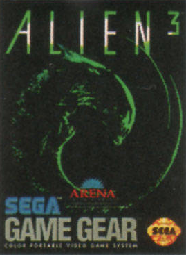 Alien 3 Sega Game Gear cover artwork