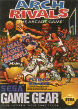 Arch Rivals Sega Game Gear cover artwork