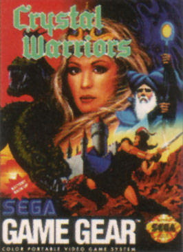 Crystal Warriors Sega Game Gear cover artwork