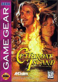 Cutthroat Island Sega Game Gear cover artwork