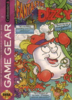 Fantastic Dizzy Sega Game Gear cover artwork