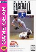 MLBPA Baseball Sega Game Gear cover artwork