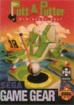 Putt & Putter Sega Game Gear cover artwork