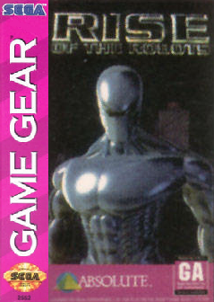 Rise of the Robots Sega Game Gear cover artwork