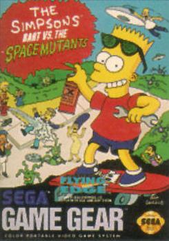 Simpsons, The - Bart vs. The Space Mutants Sega Game Gear cover artwork