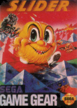 Slider Sega Game Gear cover artwork
