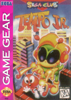 Tempo Jr. Sega Game Gear cover artwork