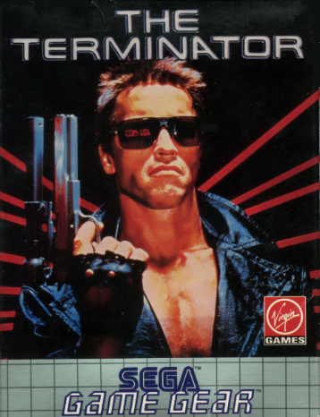Terminator, The Sega Game Gear cover artwork