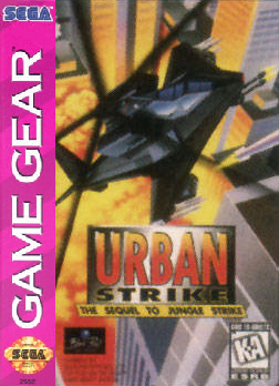 Urban Strike Sega Game Gear cover artwork
