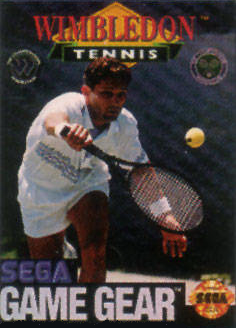 Wimbledon Sega Game Gear cover artwork