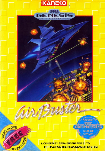 Air Buster Sega Genesis cover artwork