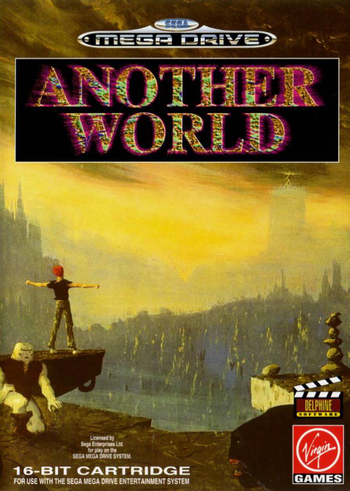 Another World Sega Genesis cover artwork