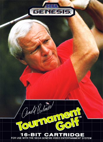 Arnold Palmer Tournament Golf Sega Genesis cover artwork