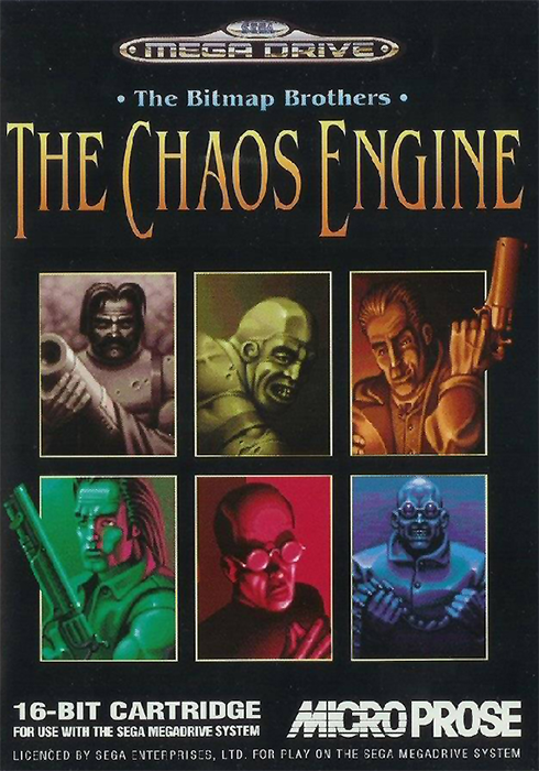 Chaos Engine, The Sega Genesis cover artwork