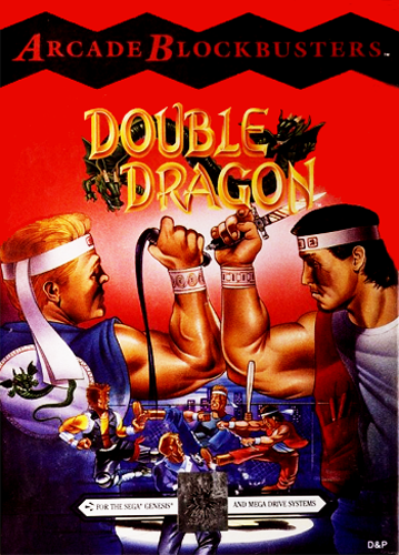 Double Dragon Sega Genesis cover artwork