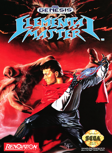 Elemental Master Sega Genesis cover artwork
