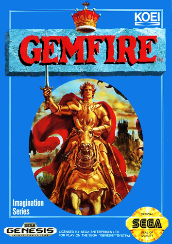 Gemfire Sega Genesis cover artwork