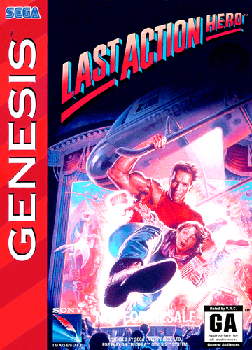 Last Action Hero Sega Genesis cover artwork