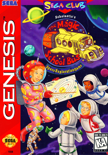 Magic School Bus, The Sega Genesis cover artwork