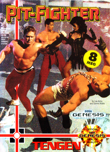 Pit-Fighter Sega Genesis cover artwork
