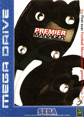 Premier Manager Sega Genesis cover artwork