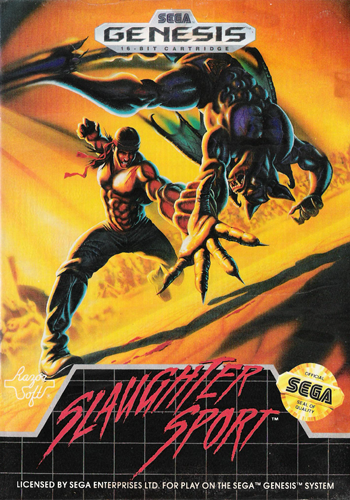 Slaughter Sport Sega Genesis cover artwork