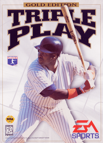 Triple Play - Gold Edition Sega Genesis cover artwork
