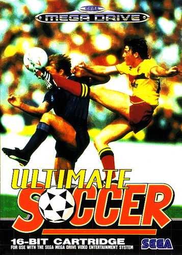 Ultimate Soccer Sega Genesis cover artwork
