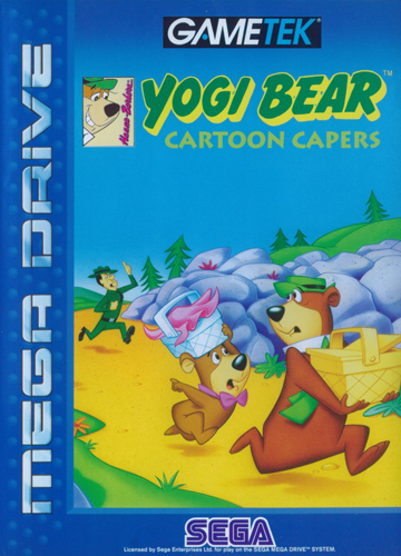 Yogi Bear - Cartoon Capers Sega Genesis cover artwork
