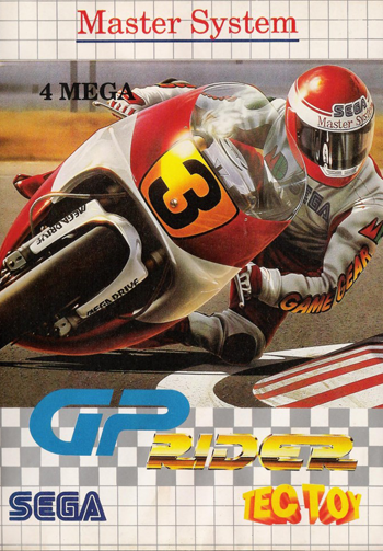 GP Rider Sega Master System cover artwork