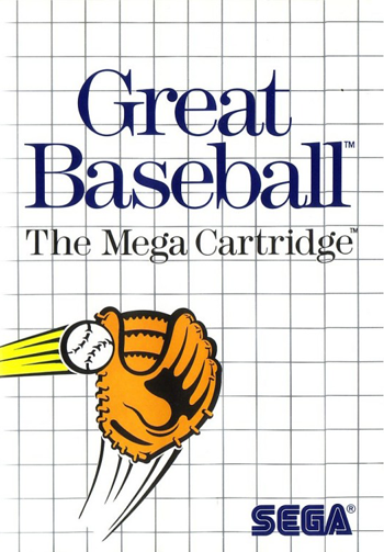 Great Baseball Sega Master System cover artwork