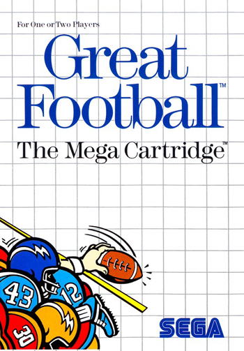 Great Football Sega Master System cover artwork