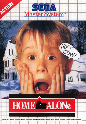 Home Alone Sega Master System cover artwork