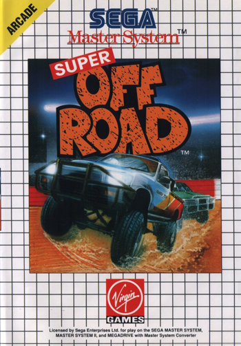 Super Off Road Sega Master System cover artwork