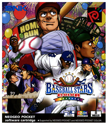 Baseball Stars Color SNK Neo Geo Pocket cover artwork