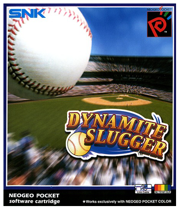 Dynamite Slugger SNK Neo Geo Pocket cover artwork