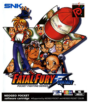 Fatal Fury F-Contact SNK Neo Geo Pocket cover artwork