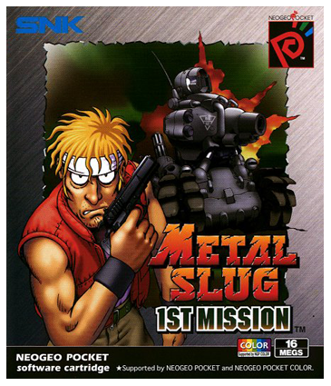 Metal Slug - 1st Mission SNK Neo Geo Pocket cover artwork