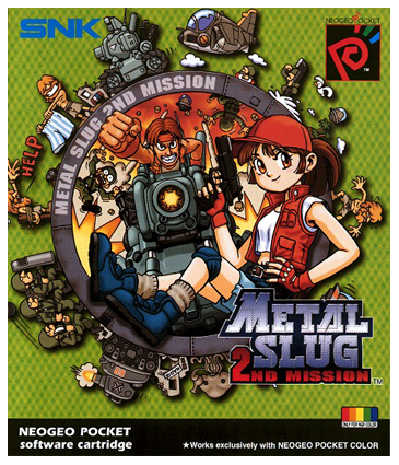 Metal Slug - 2nd Mission SNK Neo Geo Pocket cover artwork