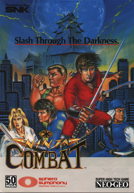Ninja Combat SNK NEO GEO cover artwork