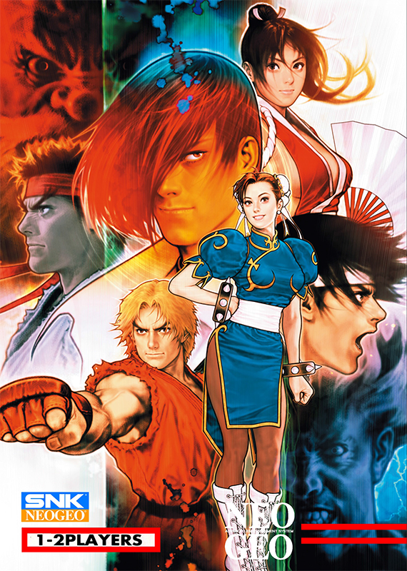SNK vs. Capcom : SVC Chaos SNK NEO GEO cover artwork
