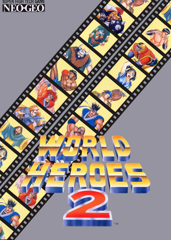World Heroes 2 SNK NEO GEO cover artwork