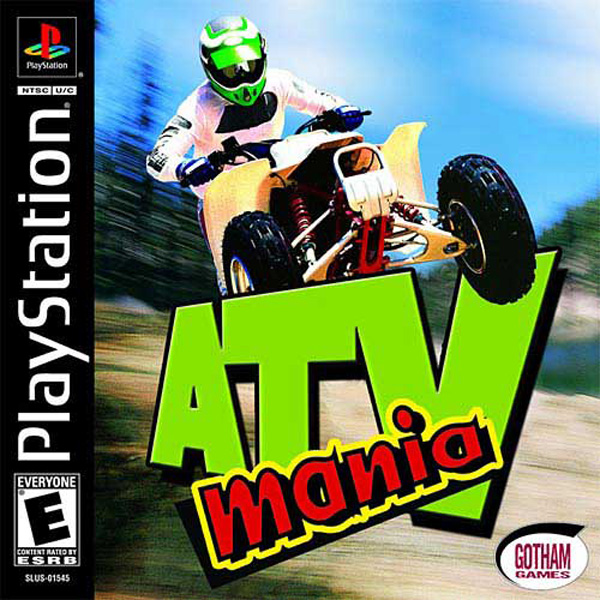 ATV Mania Sony PlayStation cover artwork