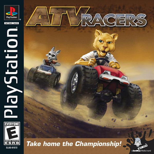 ATV Racers Sony PlayStation cover artwork