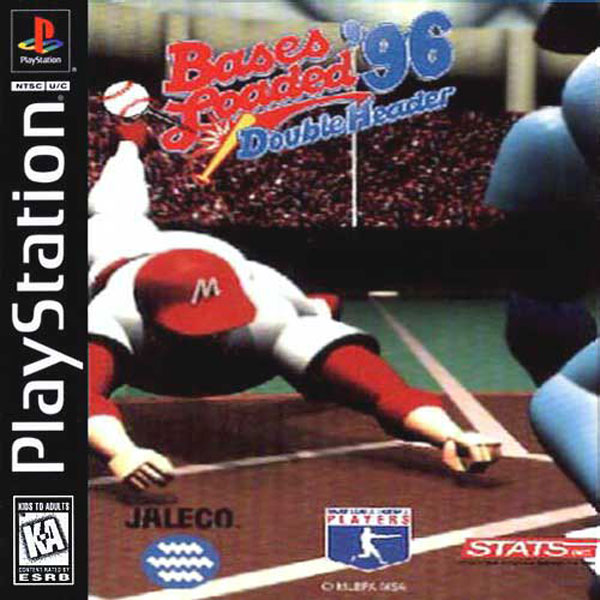 Bases Loaded '96 - Double Header Sony PlayStation cover artwork
