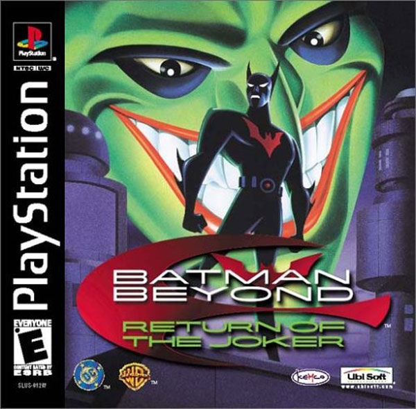Batman Beyond - Return of the Joker Sony PlayStation cover artwork
