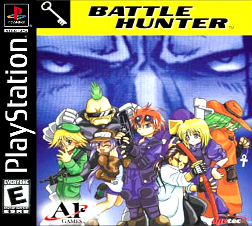 Battle Hunter Sony PlayStation cover artwork