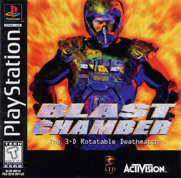 Blast Chamber Sony PlayStation cover artwork
