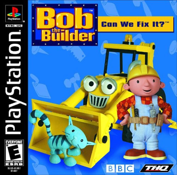 Bob the Builder - Can We Fix It Sony PlayStation cover artwork